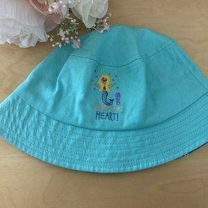 "New Gertex Kids' ""Mermaid at Heart"" Turquoise Hat"